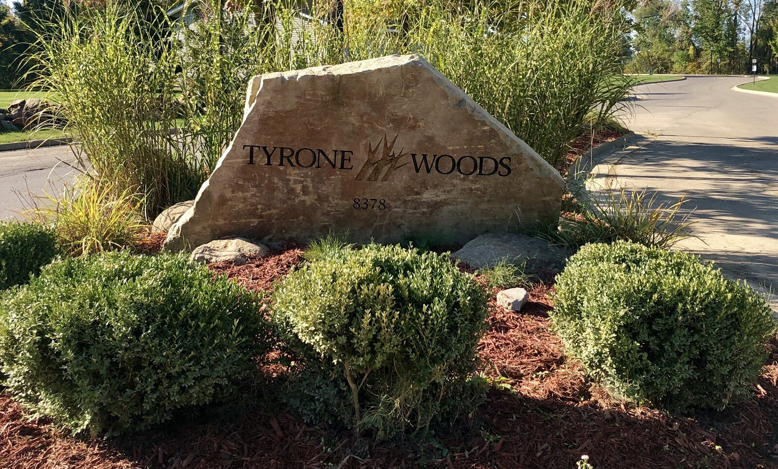 Tyrone Woods Manufactured Home Community Marker
