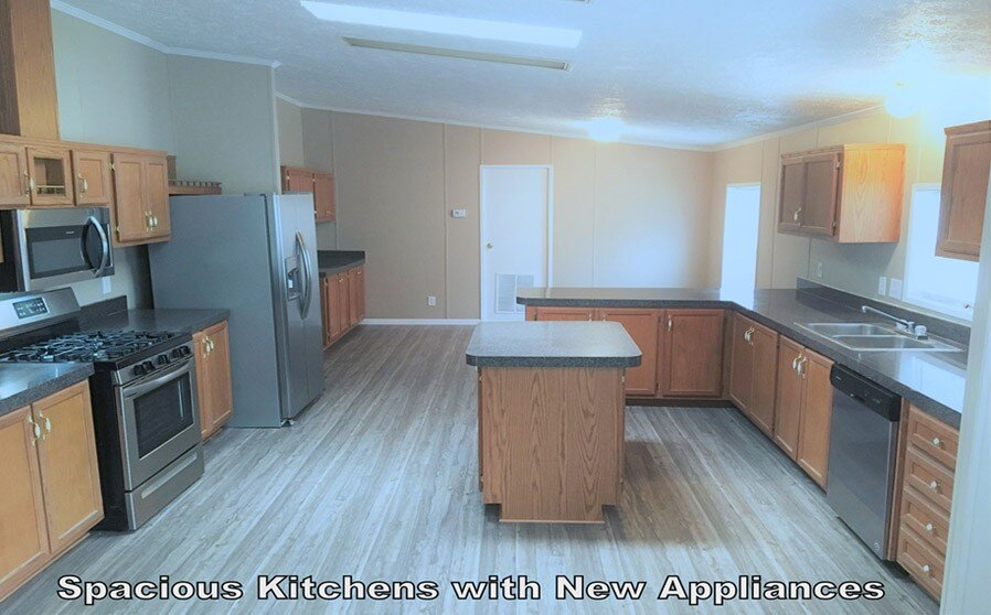 Tyrone Woods Manufactured Homes Kitchen