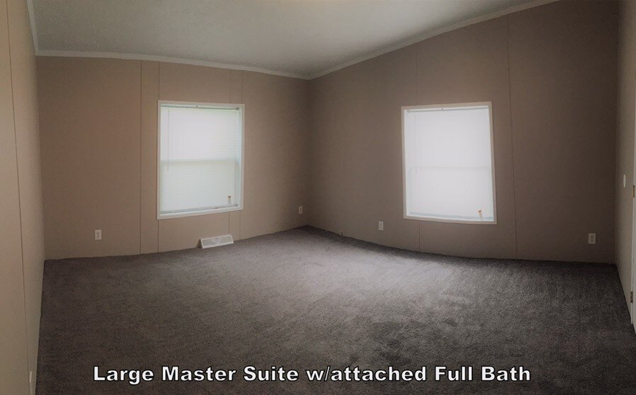 Large Master Suite With Attached Full Bath