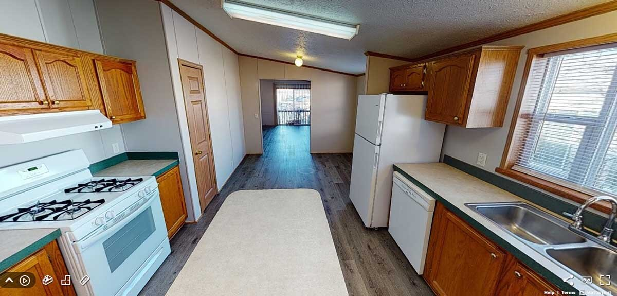Kitchen of Mobile Homes For Sale In Fenton MI